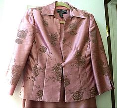 Lovely Size 6 Mauve Rose Pink MOTHER of the BRIDE by Insideredo