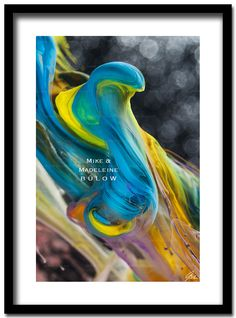 """Mike & Madeleine Bülow """" SATORI """" 95 X 68 CM our images are unique pieces! abstract photograph of a special color mix .  A B S T R A C T - P H O T O G R A P H Y & P A I N T I N #abstract #photo #modern #art #painting #gallery #color #artist #artwork"""