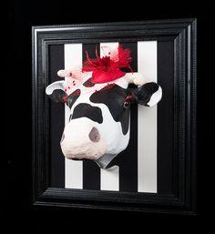 #déco #vache pour ambiance chalet d'alpage: sur le site Mon Chalet Design