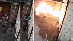 VIDEO: Arsonist tried burning down a synagogue but caught himself, instead! Now, he learned his Don Imus, Sara Gilbert, Joey Lawrence, 21st Century Fox, Net Neutrality, Film Studio, Time Magazine, Savannah Chat, Hate
