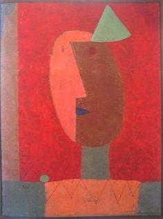 eclektic:  Clown, 1929 Paul Klee
