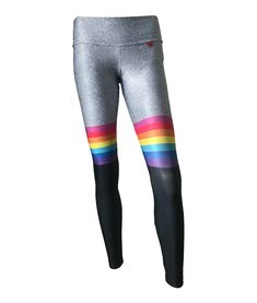 Leggings SockMAMA Frosted Gray/Rainbow - PREORDER