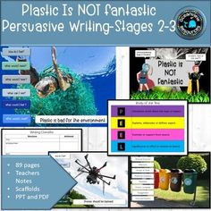 Plastic is not Fantastic- Stages Persuasive Agree With You, English Resources, Persuasive Writing, Teacher Notes, Primary School, Teacher Resources, Literacy, Teaching, Purpose
