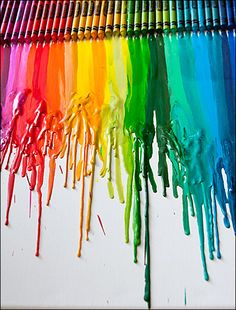 Glorious Crayola Color Meltdown