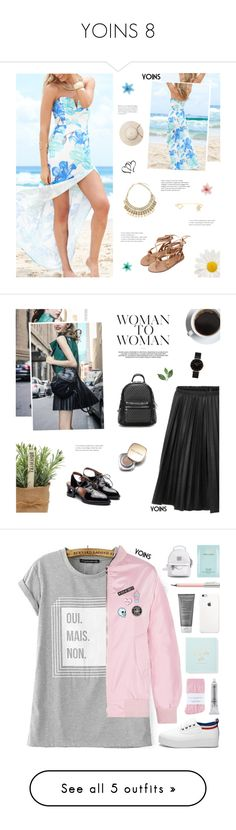 """""""YOINS 8"""" by paradiselemonade ❤ liked on Polyvore featuring Luli, yoins, yoinscollection, loveyoins, CLUSE, Dolce&Gabbana, Johnstons, Kate Spade, Meraki and Living Proof"""