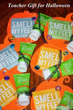 Sister-Dipity: Trick or Treat Smell My Feet - Gift Idea