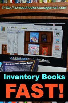 Quickly and easily inventory anything with a UPC symbol or ISBN. We've created an inventory of our library in just a few hours! Here's how. #homeschool