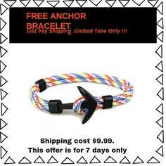 FREE Anchor Bracelet. Limited Stock. Only Pay Shipping Regular price$0.00 Sale price$16.99 Personalized Items, Bracelets, Jewelry, Jewlery, Jewerly, Schmuck, Jewels, Jewelery