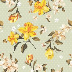 Papel de Parede Floral 126