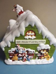 Disney Season's Greetings 75 Years Together Cookie Jar