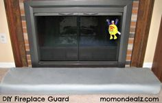 How to Make A Fireplace Guard Fireplace Hearth Guard Fireplace Baby Guard Fireplace Guard, Fireplace Cover, Fireplace Hearth, Fireplace Ideas, Herringbone Fireplace, Home Crafts, Diy Crafts, Diy House Projects, Fabric Houses