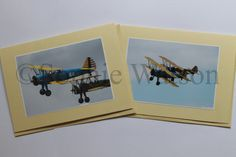 Good afternoon everyone, I hope you're all having an enjoyable Sunday! This week's Item of the Week is our Set of 2 Boeing Stearman Aircraft Photo Greetings Cards with 20% off! Was £3.50, Now £2.80! These cards are blank inside, and are perfect for Father's Day and birthday's! (This offer will run from Sun 19th May until Sun 26th May 2013). THIS OFFER HAS NOW EXPIRED.