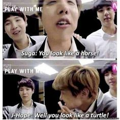 Bangtan really know how to insult each other like nobody else