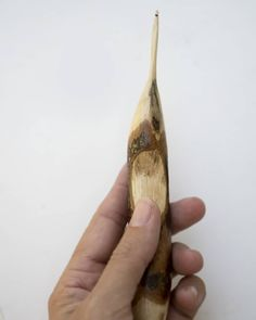Those special ergos that fit your hand just right and are small enough for lacework.😍😍 That is all.😊 . . . . . . . . . . . . #handmadehooks… Crochet Hooks, Hand Carved, Carving, Fit, Handmade, Crochet, Hand Made, Shape, Wood Carvings