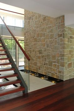 internal feature stone walls - Google Search