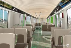Riyadh metro project by RCP - interior design - family class room