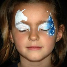 Easy and Quick Patriotic Unicorn Mask by Annabel Hoogeveen – Facepaint.com