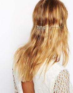 Enlarge ASOS Dragonfly Filigree Back Hair Crown