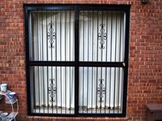 1000 Images About Door Security Bars Gate And Grilles