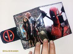 "Cartera de papel ""Deadpool"""