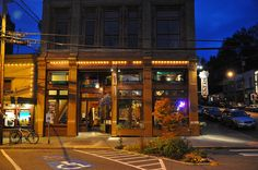 Siliverwater cafe, Port Townsend