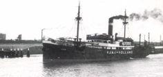 AJAX Bouwjaar 1923, grt 942 Eigenaar Koninklijke Nederlandsche Stoomboot Maatschappij N.V.,  http://koopvaardij.blogspot.nl/2016/09/8-september-1940.html