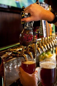 48 on-tap beers at the Wobbly Bobby - British Pub in #RapidCity South Dakota