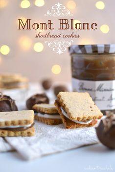 Mont Blanc Shortbread Cookies (Gluten Free)