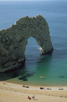 Durdle Door, Dorset, England.   Since in 1984 I Saw Billy Ocean's video for the song ''Loverboy'' I want to visit this beach.