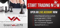 #Forex #traders make money through buying and selling #currencies on the global foreign exchange market!  Greenvault #FX is one of the best companies to start your way to become a best #trader!  Register to our live account..