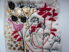 embroidery by jantze tullett, via Flickr