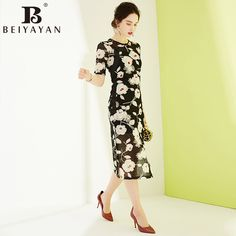 f90f706c24b Elegant Women Summer Midi Dress Vintage Embroidery Floral Lace Dress Short  Sleeve Floral Embroidery