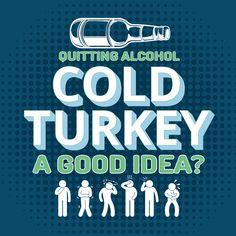 Quitting Alcohol Cold Turkey – A Good Idea?  http://www.drugrehab.org/quitting-alcohol-cold-turkey-a-good-idea/