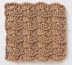 Stitchfinder : Crochet Stitch: Stacked Clusters : Frequently-Asked Questions (FAQ) about Knitting and Crochet : Lion Brand Yarn