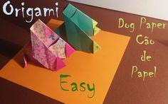 Paper Dog, Origami Dog,Papiroflexia,Dobraduras DIY