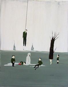 Artist: Marcel Dzama, Title: Last Winter Here, 2004 - click to close window