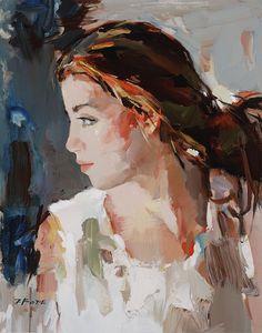 Josef Kote 1964 | Albanian Abstract painter | Vibrant colors