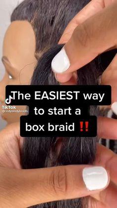 Box Braids Hairstyles For Black Women, Twist Braid Hairstyles, African Braids Hairstyles, Braids For Black Hair, Hair Twist Styles, Curly Hair Styles, Natural Hair Styles, Natural Hair Braids, Box Braids Styling