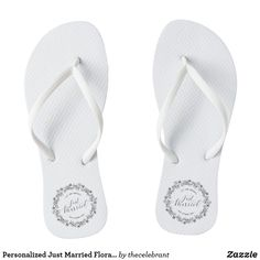 9e66e29d8fa20 31 Best Just Married Flip Flops   Wedding Flip Flops images