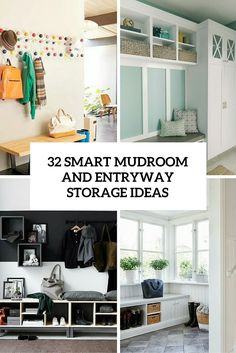 Delightful 32 Smart Mudroom And Entrywya Storage Ideas Cover