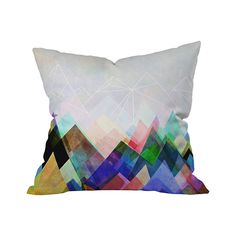 Look not-so-closely at the Dandy Andes Outdoor Throw Pillow. What do you see? We see an awesome watercolor image of a mountain range under a gray sky. If we're way off base, go with your first guess. B...  Find the Dandy Andes Outdoor Throw Pillow, as seen in the Outdoor Pillow Sale  Collection at http://dotandbo.com/collections/outdoor-pillow-sale-2016?utm_source=pinterest&utm_medium=organic&db_sku=105615