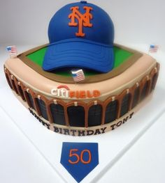 Lets Go Mets!! By Anna902 on CakeCentral.com