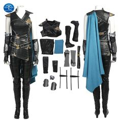 ManLuYunXiao Movie Thor Ragnarok Cosplay Women Thor 3 Valkyrie Cosplay Costume Halloween Valkyrie Costume For Women Custom Made. Yesterday's price: US $73.79 (63.71 EUR). Today's price: US $73.79 (63.85 EUR). Discount: 6%.