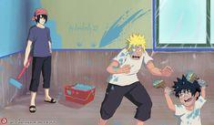 Naruto Comic, Kakashi Sensei, Naruto Cute, Naruto Sasuke Sakura, Naruto Shippuden Sasuke, Anime Naruto, Boruto, Sasunaru, Narusasu