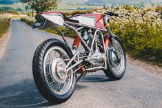 """""""We started off just doing general welding repairs and custom fabrication jobs,"""" says Jim from the UK's Alonze Custom. """"There is only me and my Dad here so we're not a big company or anything."""" And as if to prove the point, this beautiful custom '67 Ducati's photos were snapped by his Dad, too..., http://www.pipeburn.com/home/2018/07/10/1967-ducati-350-racer.html"""