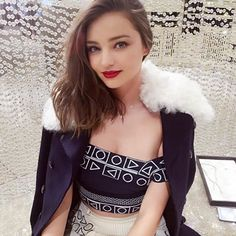 From swarovski - Spotted: @mirandakerr dazzling in our latest collection just before raising the #Swarovski star @rockcenternyc #regram