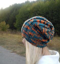 Шапка спицами. Универсальная &Cap knitting needle. Universal.