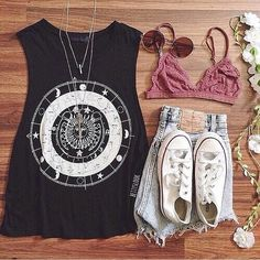 Summer music festival outfits