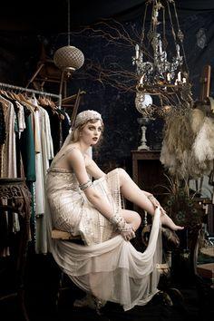 Johanna Johnson's Luxor Collection photo shoot