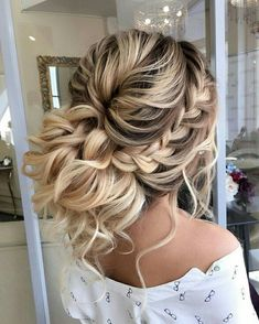 31 Best Trendy And Beautiful Twisted Rope Braid Blonde Hairstyle For Long Hair 💖 - Haircut 06 . 👧 ❤ ❤ ❤ ❤ ❤ ❤ ❤ ❤ ❤ ❤ Everythings About Gorgeous Twisted Rope Braid Hairstyle for You ! Long Hair Haircut, Prom Hairstyles For Long Hair, Prom Hair Updo, Bride Hairstyles, Pretty Hairstyles, Summer Hairstyles, Unique Hairstyles, Hairstyles For Sweet 16, Long Prom Hair